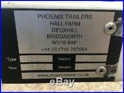 Phoenix Car Towing Dolly Recovery Trailer / Transporter 96 Wide