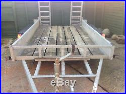 Plant trailer Galvanised steel Max. 3.5T