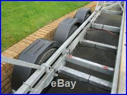 Power boat / Yacht trailer 3500kg 3 axle