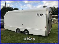Prg Prosporter Race Trailer Enclosed Car Trailer