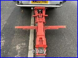 Professional heavy duty Towing dolly transporter vehicle recover trailer