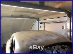RRP £16,000 Woodford RL6010 3500KG Race Liner Shuttle Covered Car Trailer