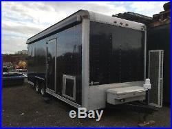 Race car/day trailer £13,000 + VAT
