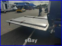 Race car transporter artic trailer