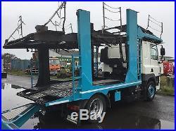 Sold 2010 Daf 85 With Transporter Engineering +11 Car Transporter Trailer