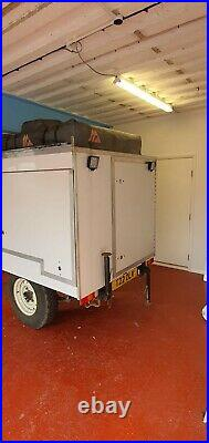 Sankey Expedition trailer with Roof Tent