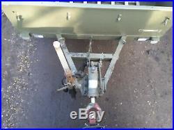 Sankey trailer army NATO military gkn land rover