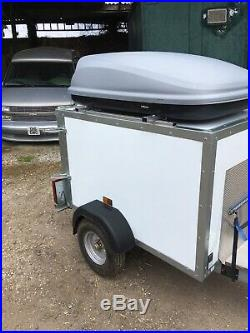 Single Axle Camping Trailer