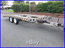 Single space CAR TRANSPORTER TRAILER VAPP 2400kg