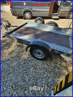 Smart fortwo Motorhome Towcar with Brian James smart car trailer