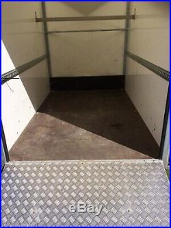 TOW A VAN BLUE LINE 17085 Box Trailer YEAR 2017 RAMP DOOR EXCELLENT CONDITION