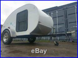 Teardrop Trailer Camping Camper Glamping Festival Event Mini Caravan Bike Trike