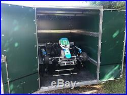 Tickner Box Trailer Twin Axle Karting Motorcross