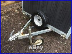Tickners 750 Kg Box Two Wheel Trailer