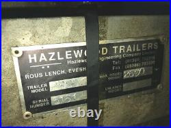 Tipper Trailer Hazlewood Trailers Tipping £2,995 + VAT