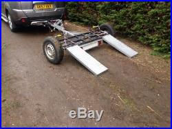 Towing dolly recovery dolly not a frame trailer