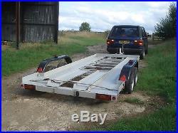 Trailer car transporter Bateson twin axle 3100kgs gross