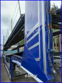 Transport Engineering st09rc203 8 Car Transporter Trailer