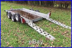 Transporter trailer Bingley Ifor trailer classic car events ivor van 4x4 ct136