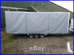Tri Axle Car Transporter Trailer (3.5t)