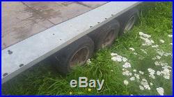 Tri axle car transporter trailer brian james 3500 kilo