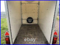 Trident Box Trailer Indespension Tow A Van 8ft X 4ft X 6ft Internal Car Trailer