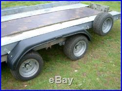 Twin Axle Tilt Bed Car Transporters Trailer 2600Kg Not Brian James, German Made
