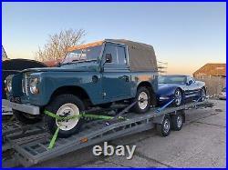 Twin Car Transport Trailer, Two Cars Dual Twin Axel