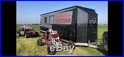 Twin Race Car Bike Trailer Transporter Bradley