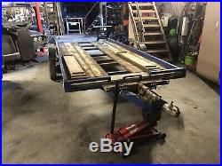 Twin axle car transporter trailer 14ft Bed
