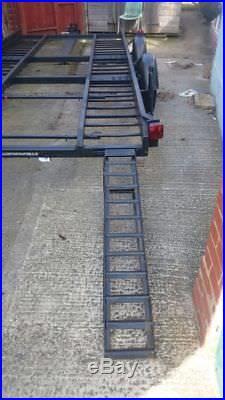Twin axle car transporter trailer 545×230cm