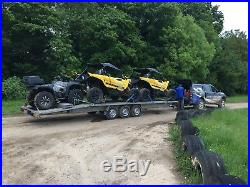 Two car Transporter Trailer 8m Bed