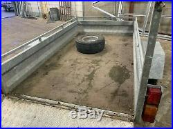 Unbraked 7' x 4 Goods Trailer 750KG Gross weight with Ramp