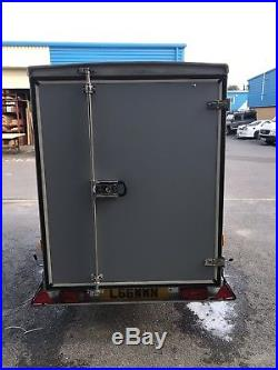Used Debon box trailers