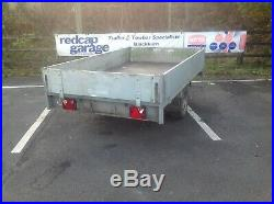 Used/Secondhand Anssems PSX 1300 Flatbed/ Dropside 8x5 Goods Trailer