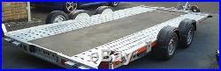 Used/Secondhand Ex Demo Brian James A4 Car Transporter Trailer 125-2323