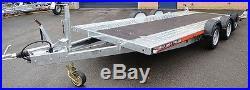 Used/Secondhand Ex Demo Brian James A4 Car Transporter Trailer 125-2423