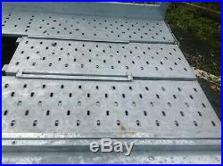 Used/Secondhand Lider 2600kg Twin Axle Car Tilt Bed Transporter Trailer