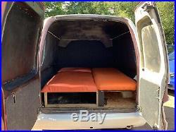 VW CADDY Mk2 TRAILER/CAMPING/SLEEPING POD CONVERSION. BIKE STORAGE