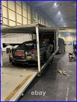 Voss Enclosed Race Car Transporter Trailer