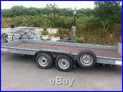 Wessex 2600kg Tilt And Tip Twin Axle Car Trailer Transporter