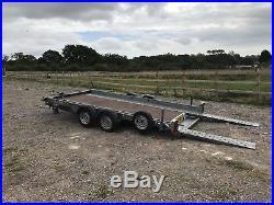 Woodford 3000kg Tilt Bed Car Transport Trailer