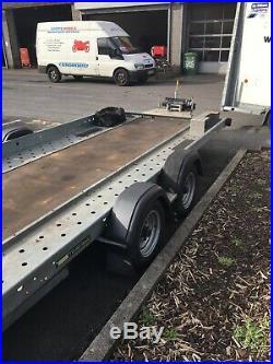 Woodford Car Transporter Trailer 16x6