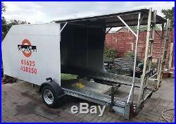 Woodford Car Transporter Trailer Enclosed