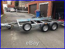 Woodford Car Transporter Trailer In Nearly New Condition