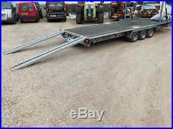 Woodford Double 2 Deck Car Trailer Transporter Tilt Bed 1 Year Old Price Inc Vat