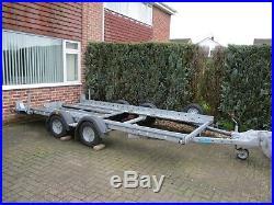 Woodford car transporter trailer